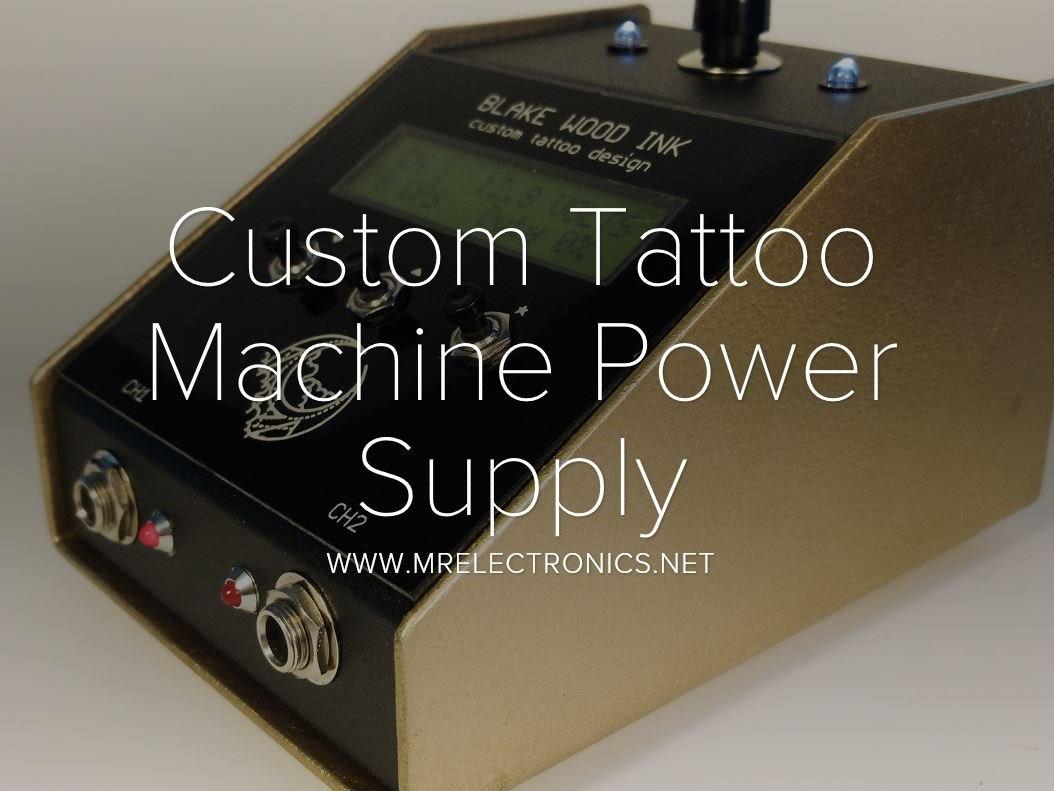 custom tattoo machine power supply hackster io rh hackster io Tattoo Machine Assembly Diagram Tattoo Machine Coils Diagram