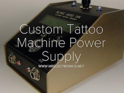 Custom Tattoo Machine Power Supply