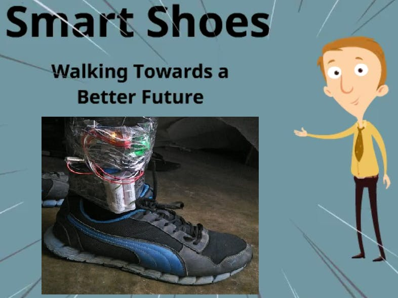smart shoes hackster io