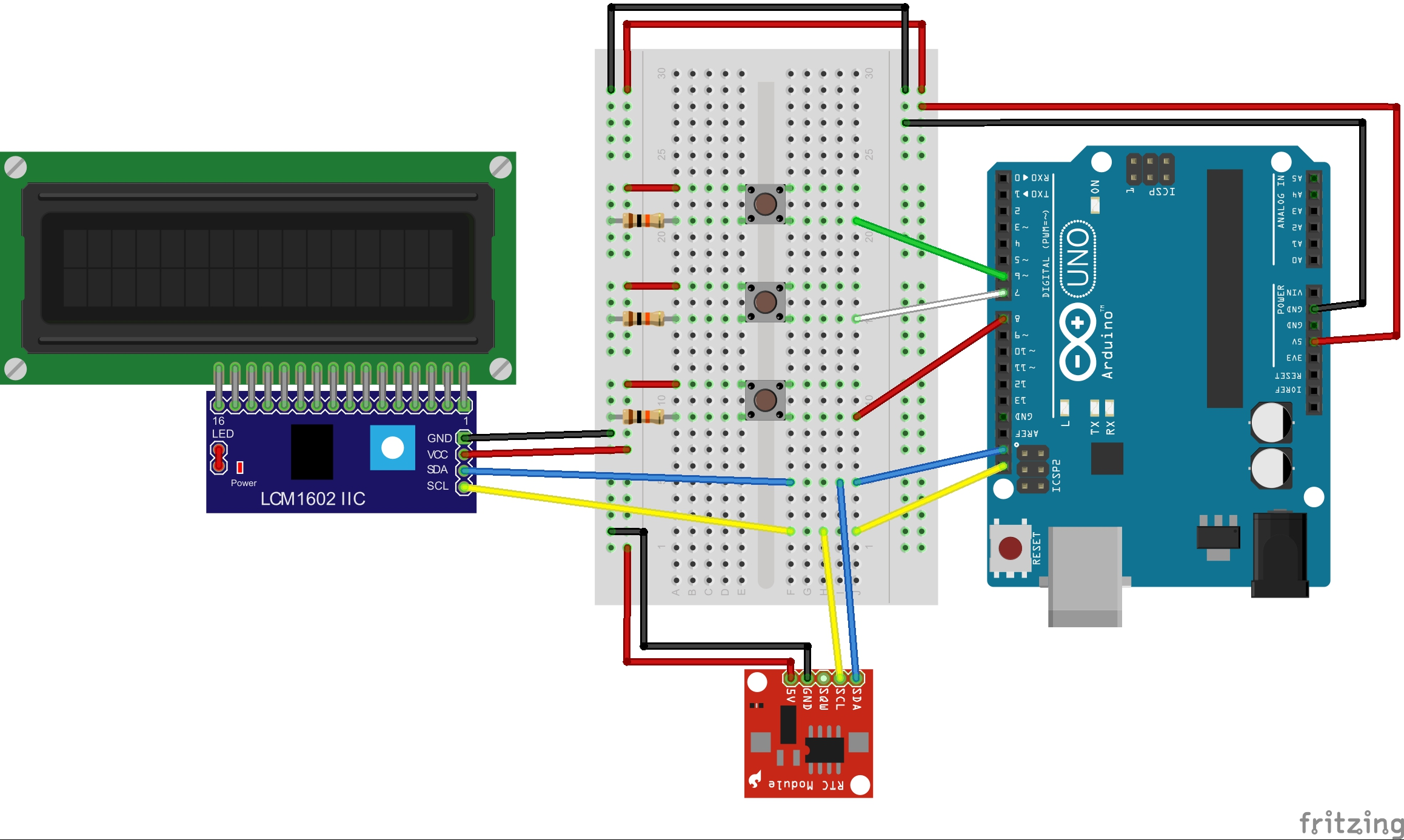 Ds1307 Real Time Clock Circuit Set Date Fritzing L9ojesn0vk