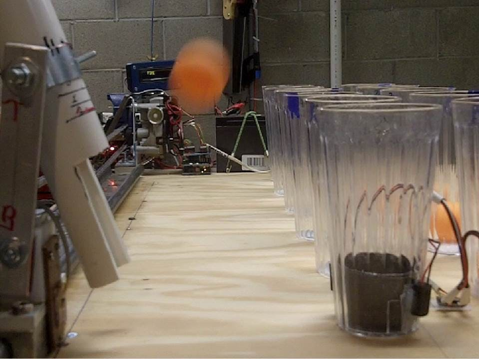 Arduino-Controlled Game: Pong-Bot Vs Human