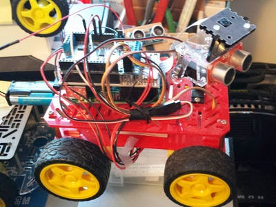 What Do I Build Next? Part 3: 1Sheeld/Alamode RasPi Robot