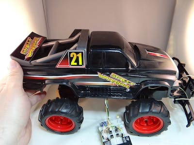 RC Car Hack To Smart Car