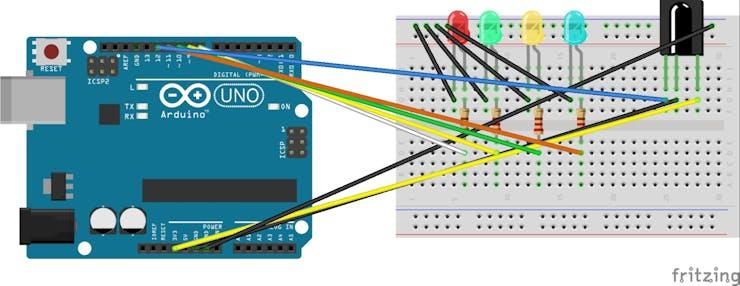 Turn LEDs On/Off via Remote Control - Hackster io