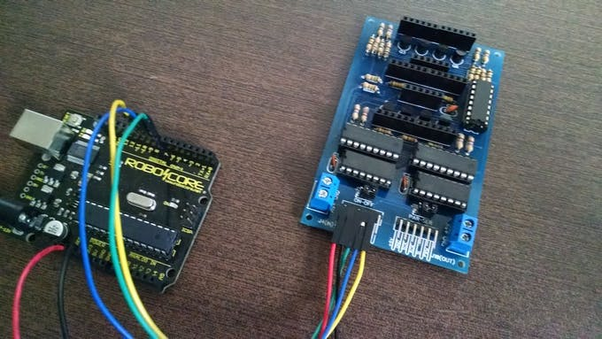 LED Display Module & Arduino