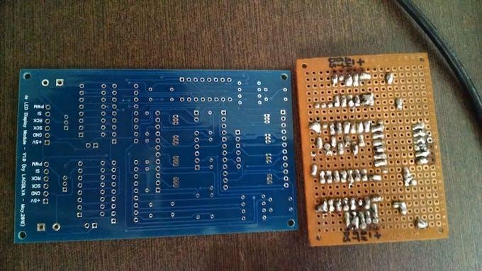 PCB versus Prototype #1