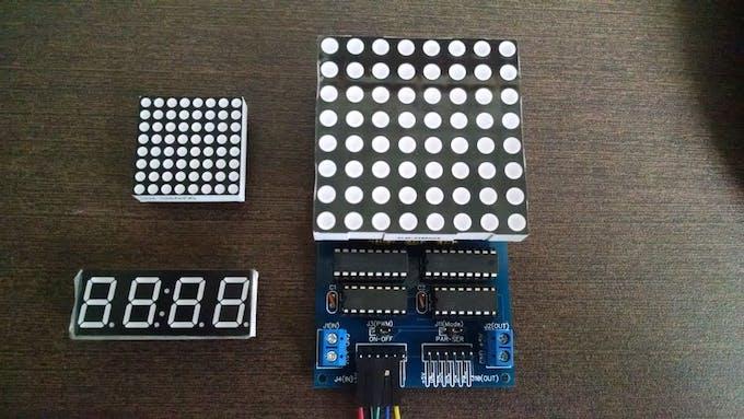 Large LED Matrix