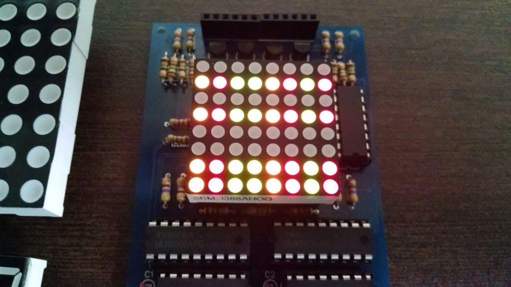 Small LED Matrix