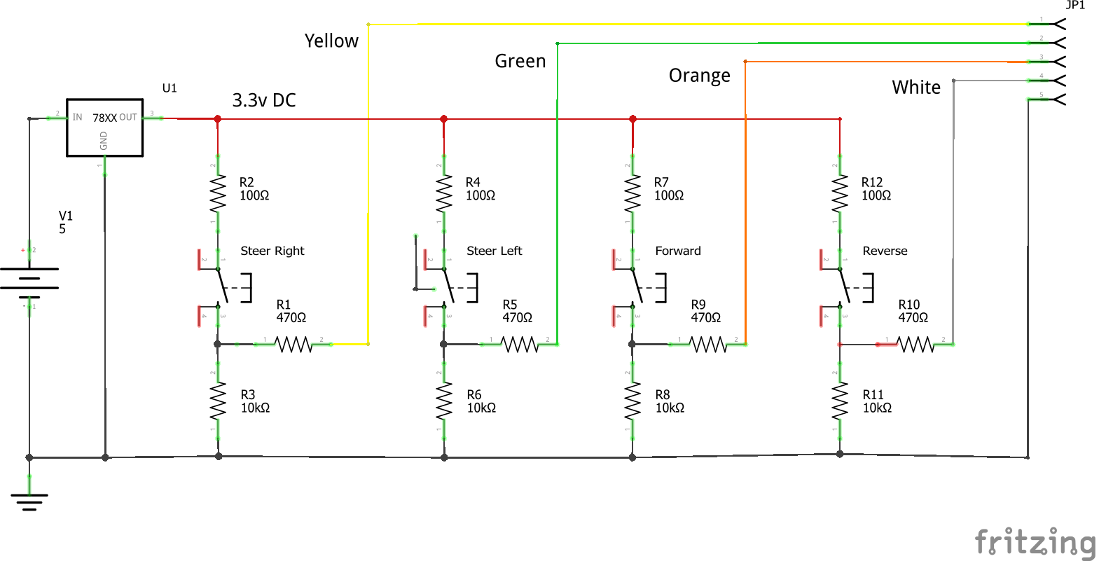 Rc Car Hack To Smart Use This Following H Bridge Circuit Schema On Our Project Switch Breadboard Schem Wflj3svdcj
