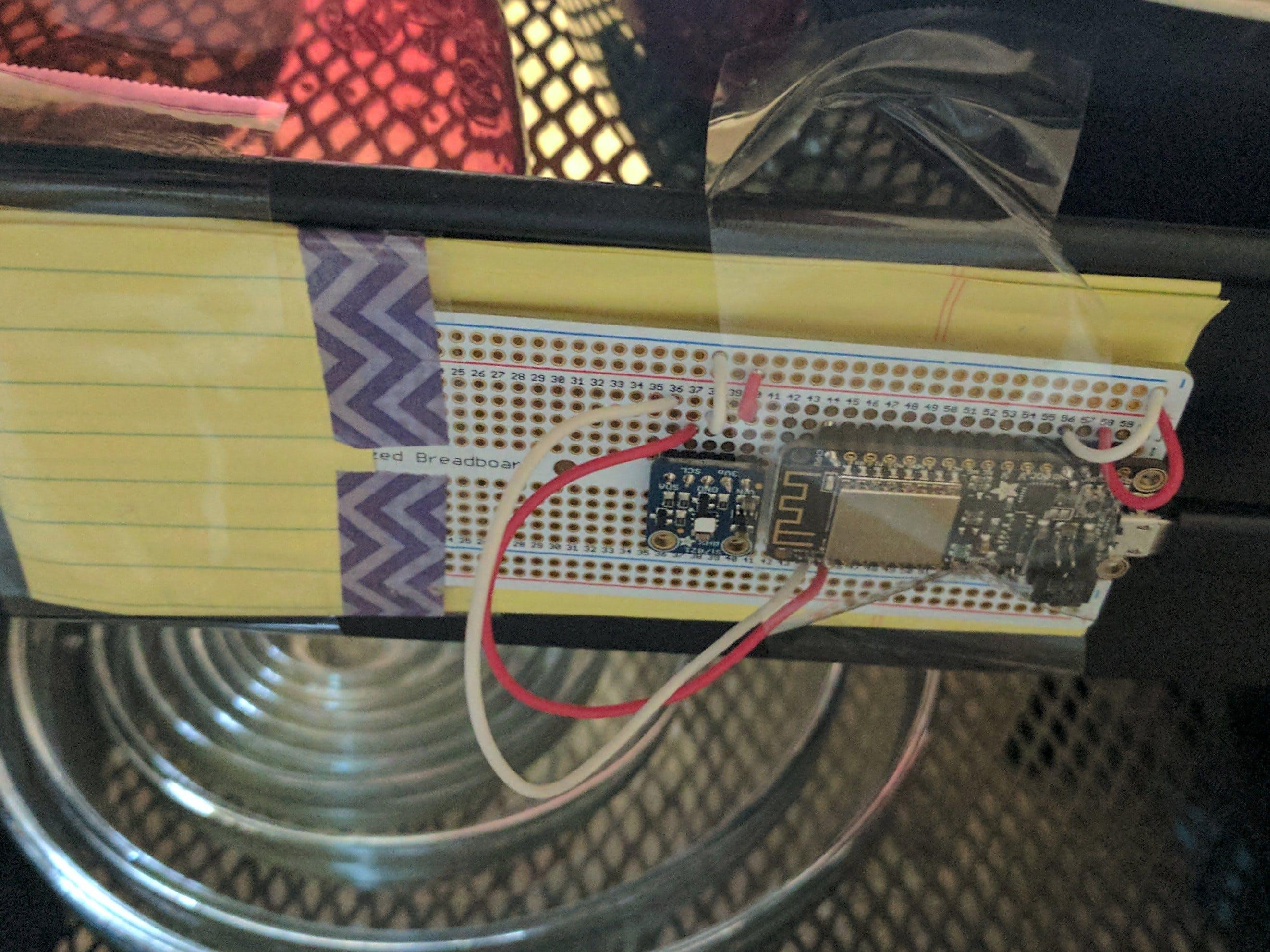 Adafruit Huzzah Humidifier/Dehumidifier Controller