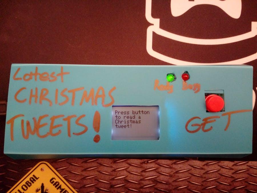 Arduino Latest Christmas Tweet Reader