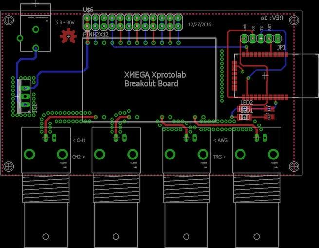 XMEGA Xprotolab Breakout Board - Hackster.io