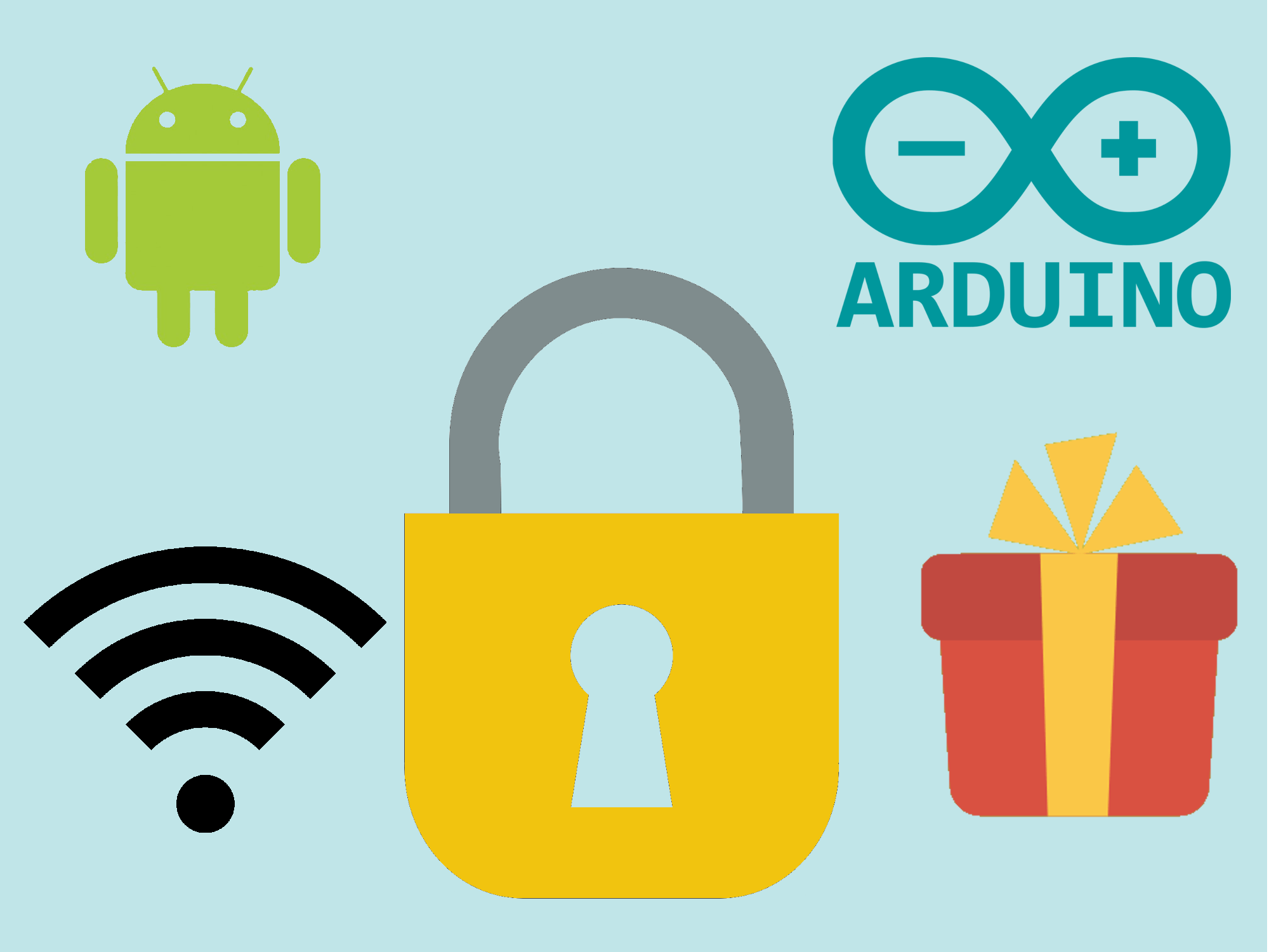 Arduino MKR1000 + Android + Relay = Christmas gift lock