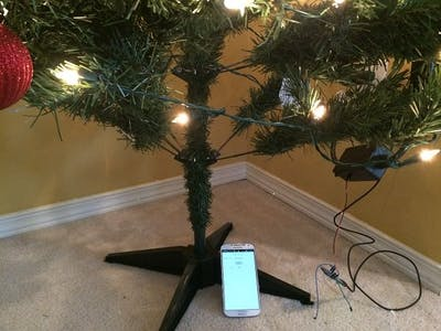 IOT Lighted Xmas Tree