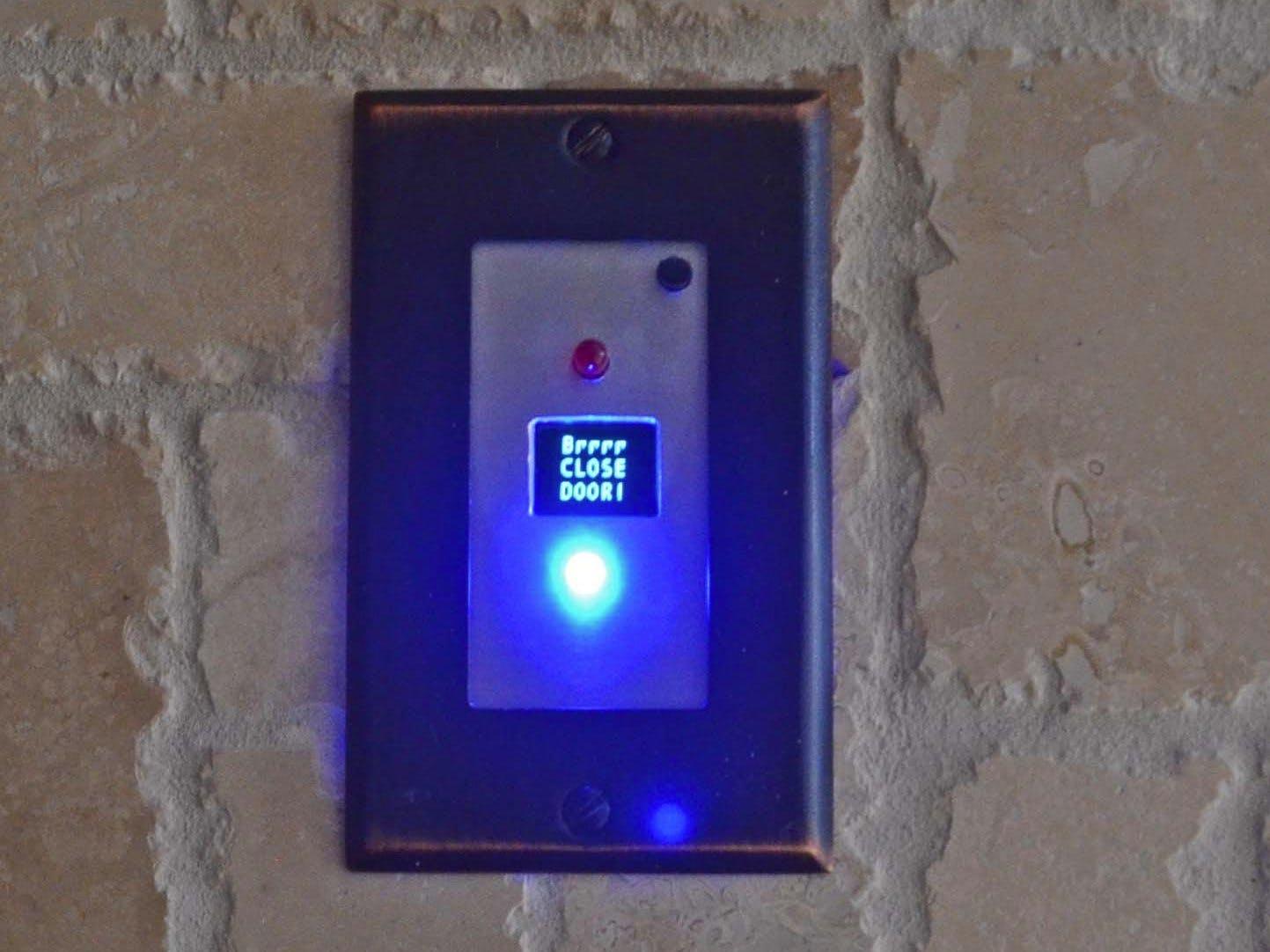 Grill & Deck-Door Monitor