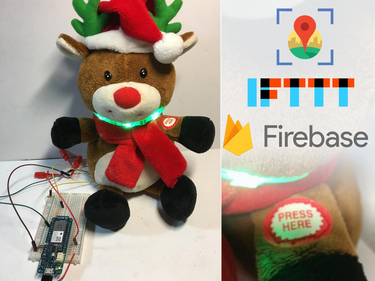 Dash Button Santa with Arduino MKR1000