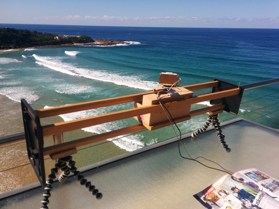 Arduino HackHD Time-Lapse Dolly