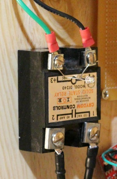 Solid State Relay - LED to Confirm Operation