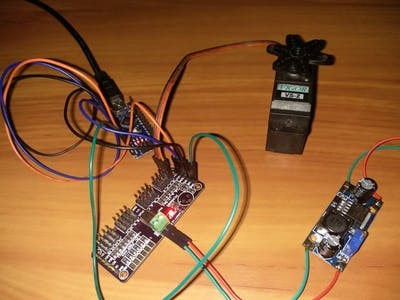 Servo Motor Using Arduino & PCA9685 16 Chanel Module