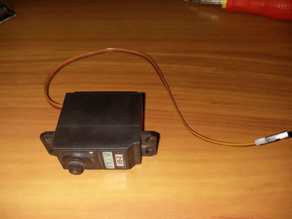 Servo Motor Using Arduino Pca9685 16 Chanel Module Wiring Diagram Linear Actuator Super Jack Project Hub