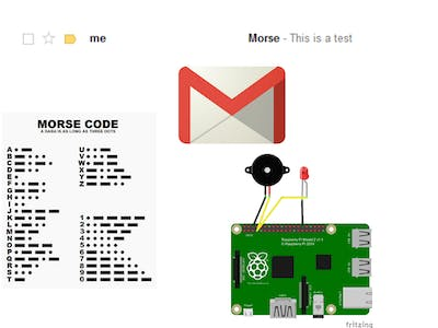 Email to Morse Code
