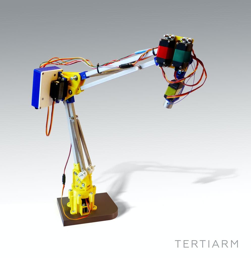 graphic regarding 3d Printable Robot named Tertiarm - 3d Released Robotic Arm - Arduino Undertaking Hub