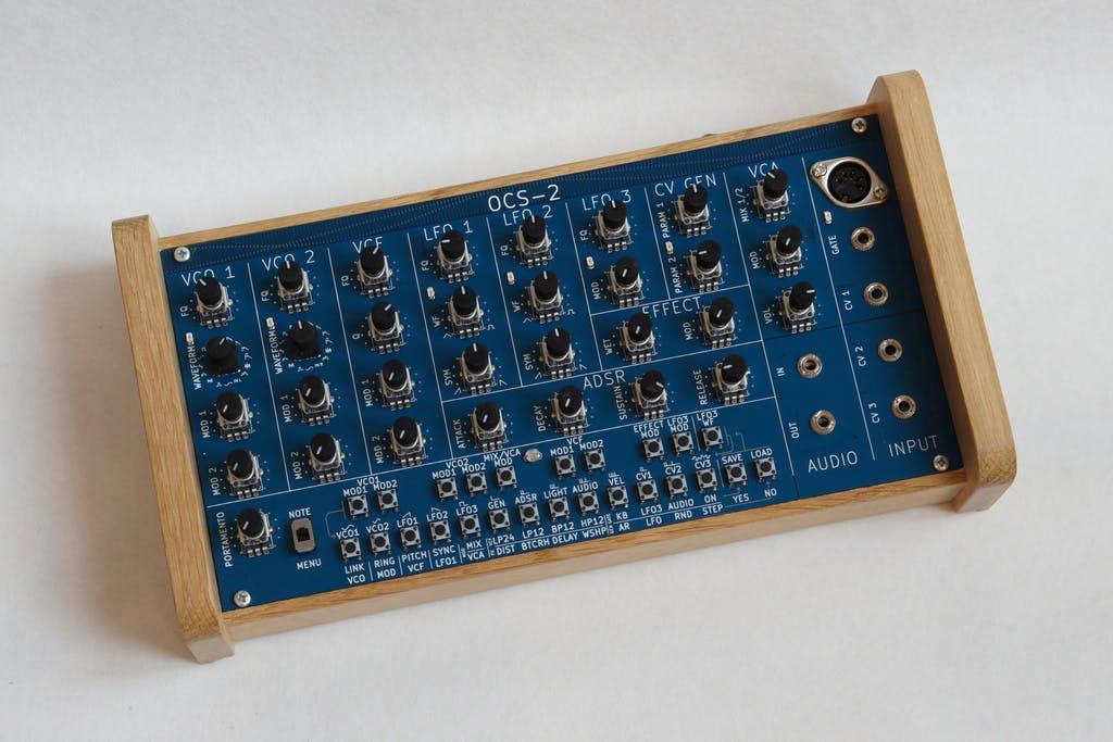 OCS-2: A Digital, Semi Modular Synthesizer