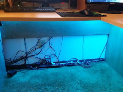 Weekend Project: Under-Desk Lighting