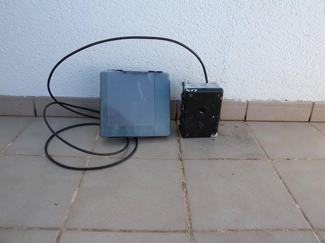 Sistema de detección de paso por un camino con Arduino