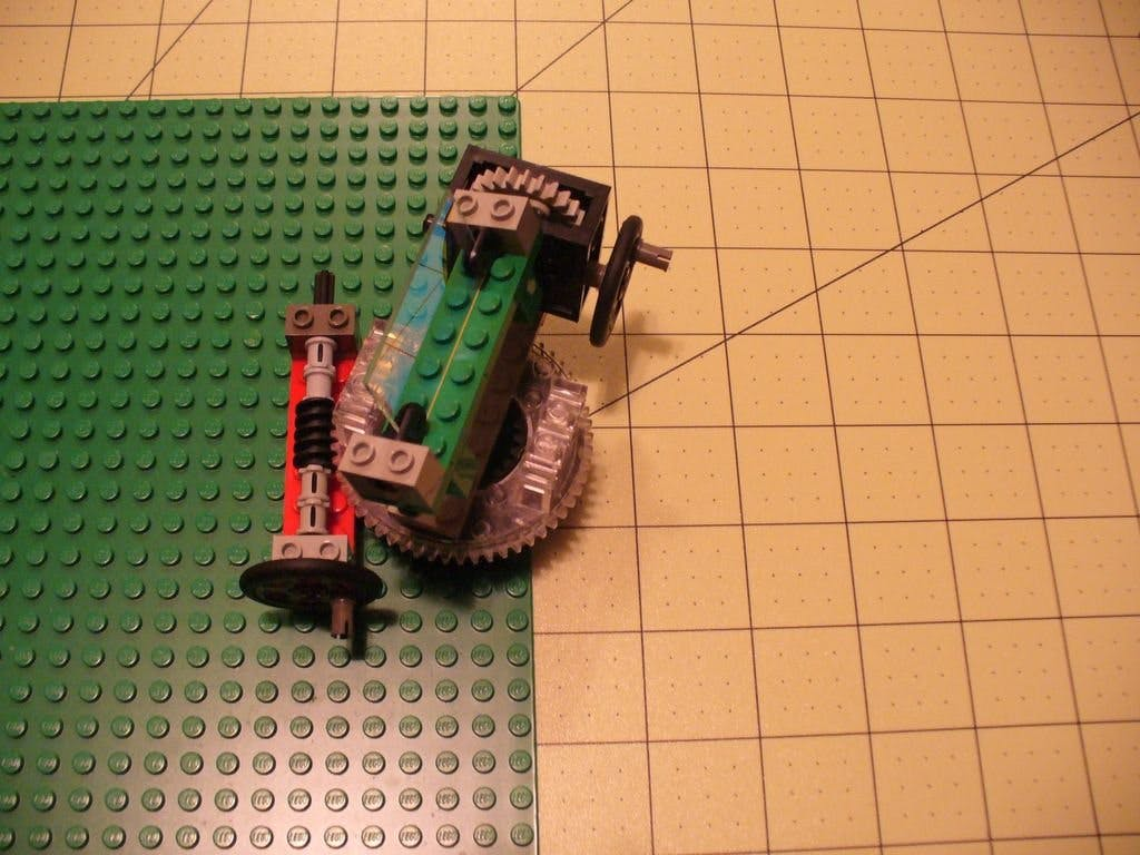 Lego Optics Lab: Worm Drive Pan/Tilt Mount