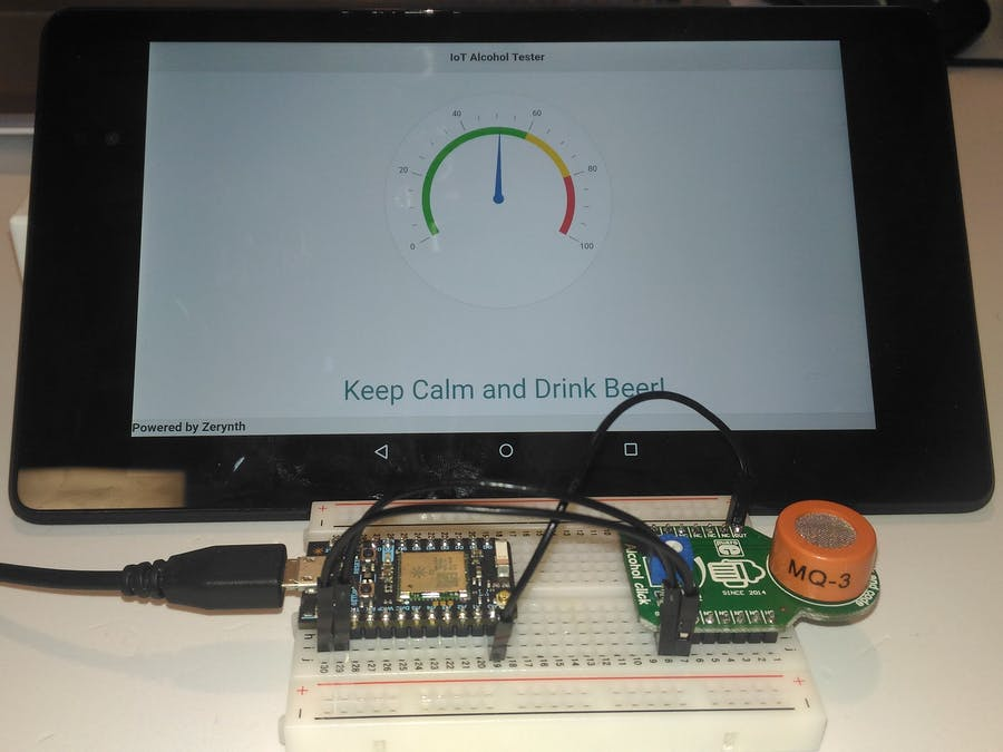 IoT Alcohol Tester