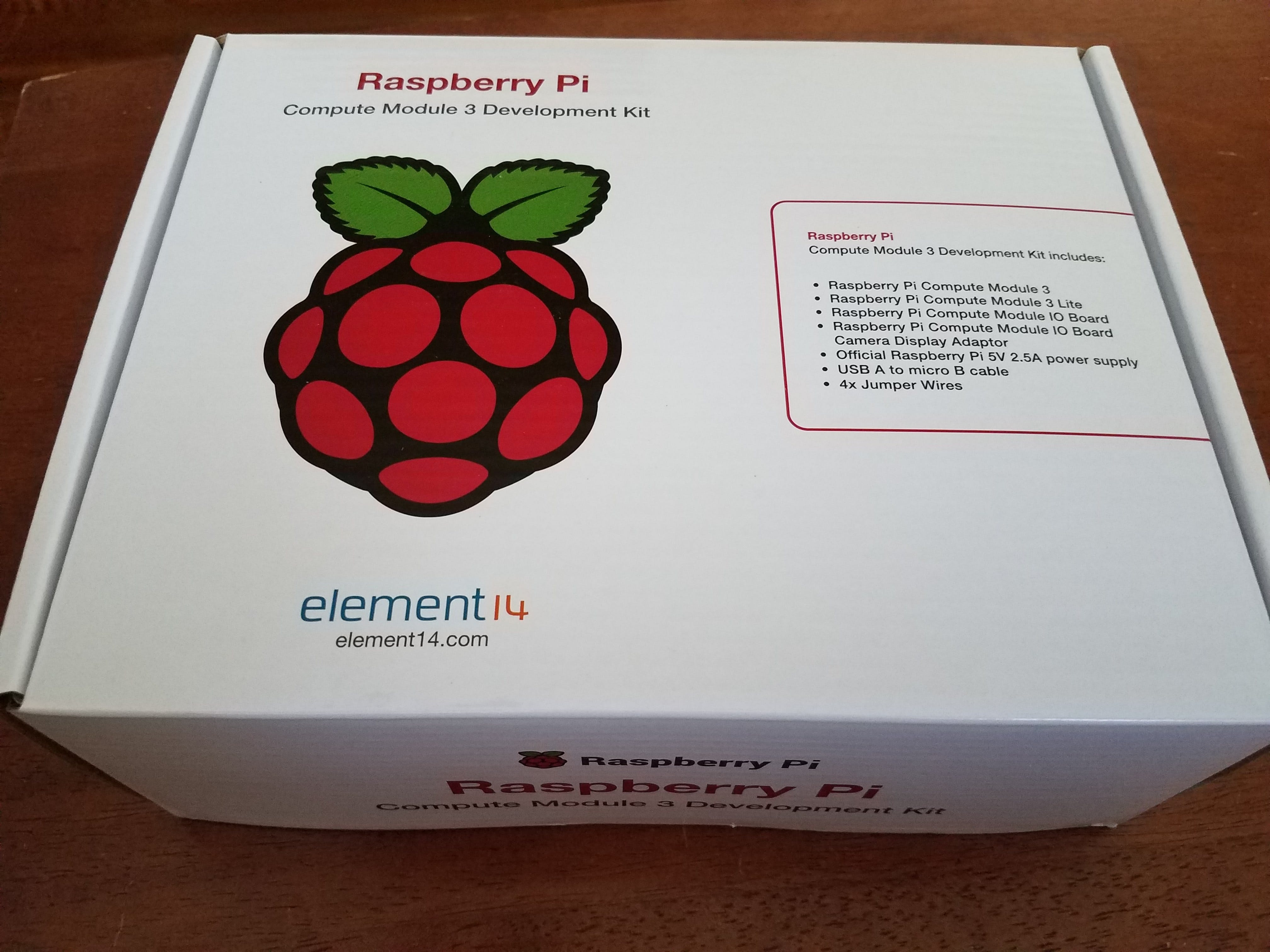 Raspberry Pi Compute Module 3 Unboxing