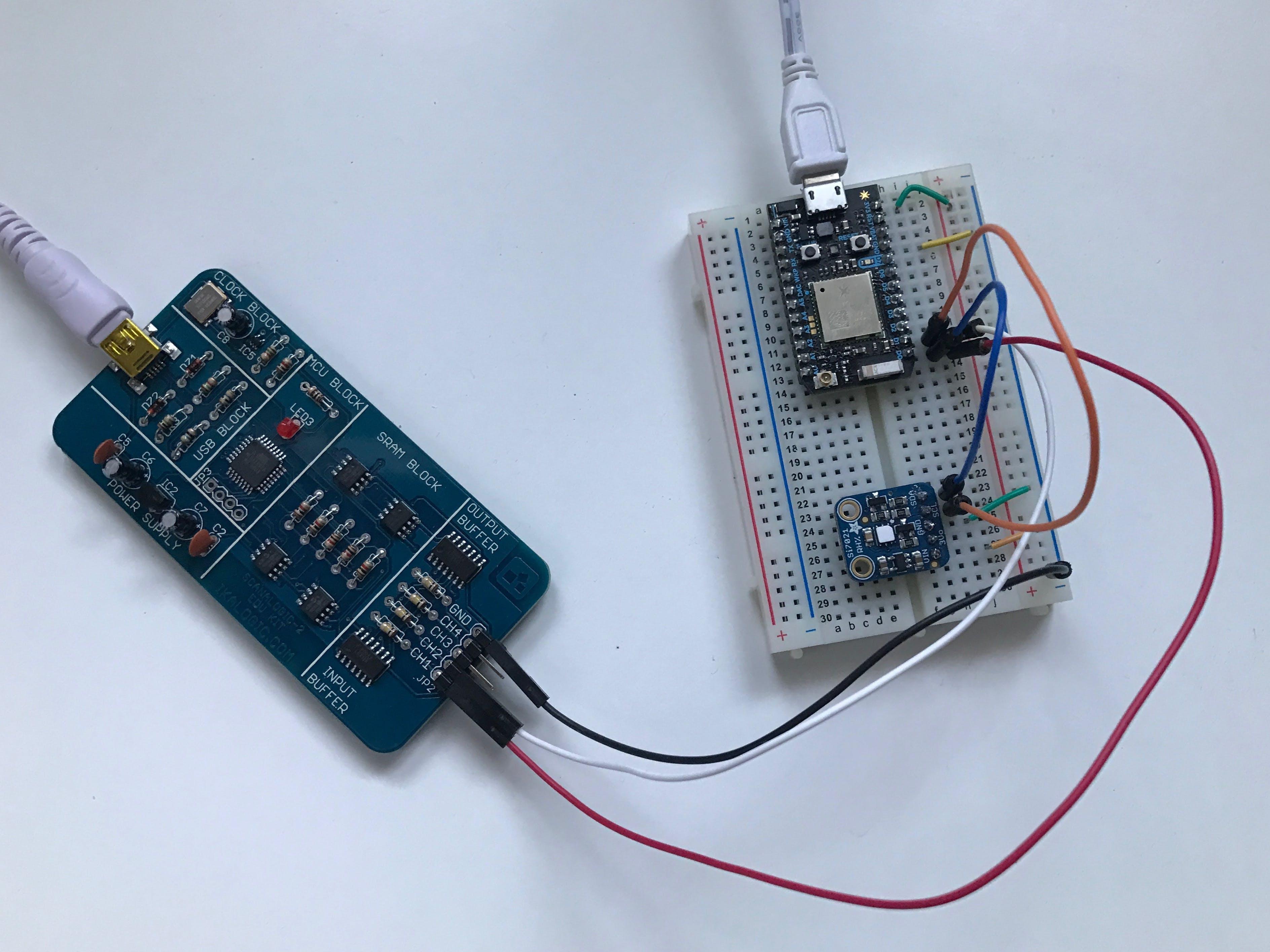 Analyze I2C sensor data with an inexpensive logic analyzer