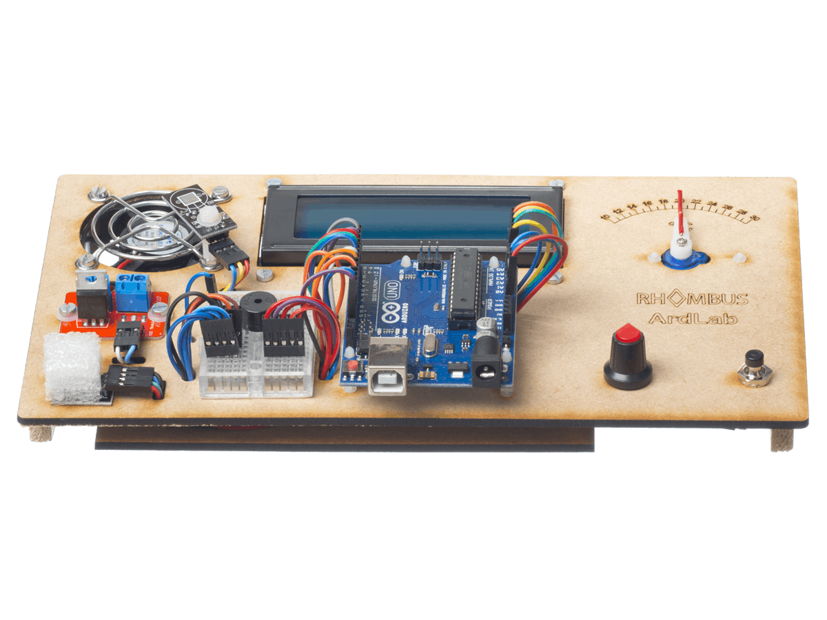 Arduino UNO Fan controller education kit