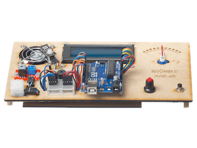 Arduino UNO Fan Controller Education Kit