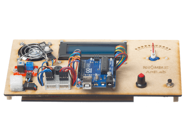 Arduino uno fan controller education kit project hub