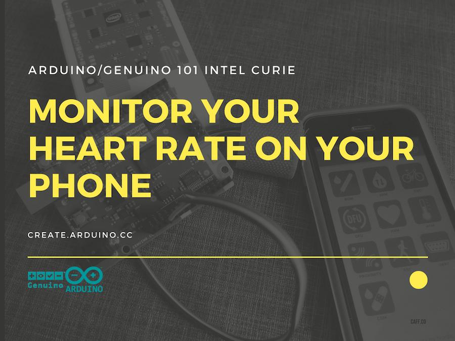 Arduino 101 Curie iOS Pulse Sensor