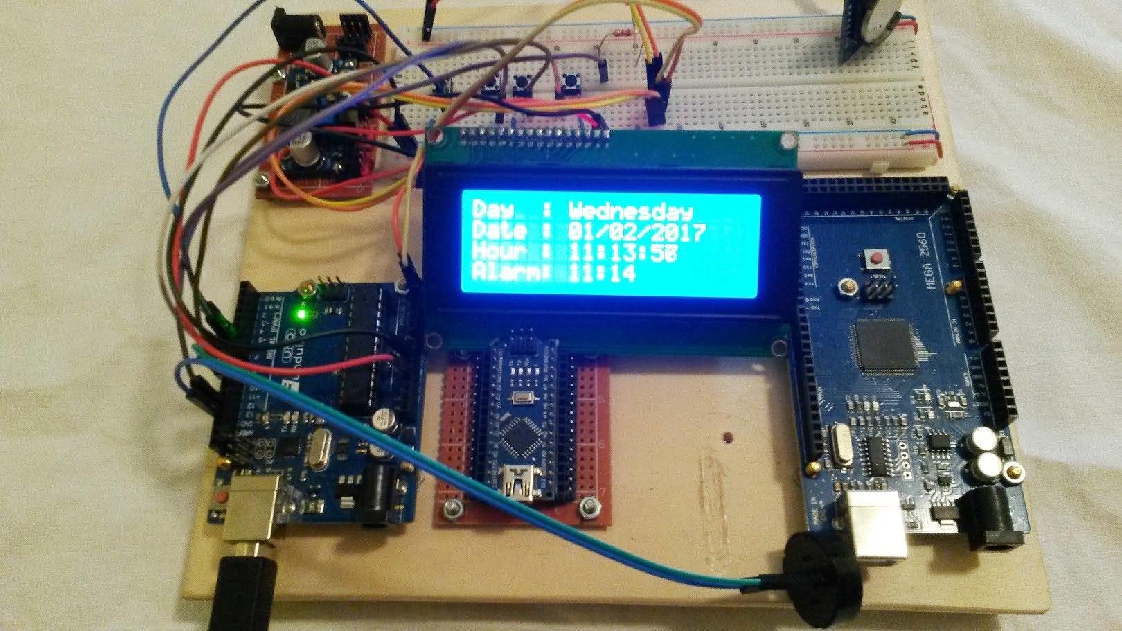 142 clocks projects arduino project hub