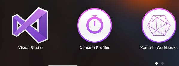 Visual Studio and Xamarin Installed on Mac