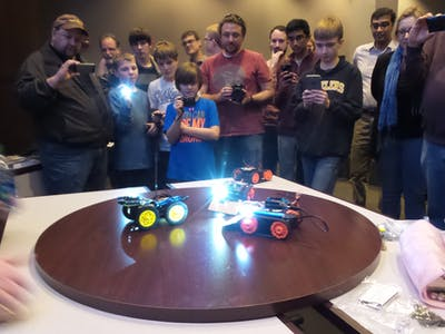 Intel Arduino Bots
