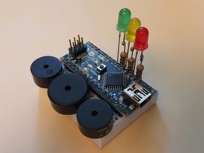 Happy Birthday Melody On Arduino Nano With 3-way Polyphony