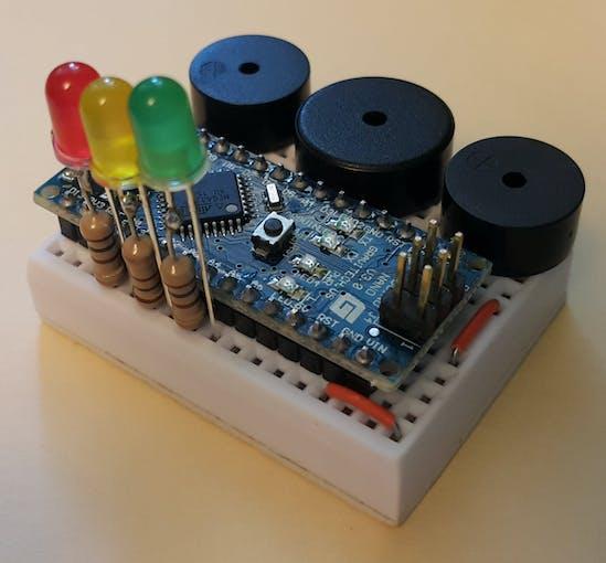 Happy birthday melody on arduino nano with way polyphony