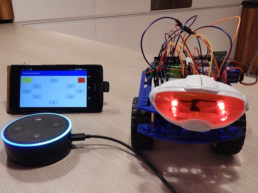 Voice Controlled Robot - Alexa Skill on Google App Engine