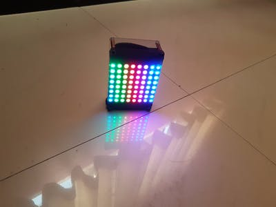 ESP8266 Based NeoPixel Dashboard