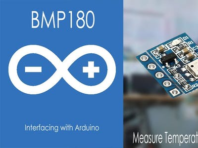 BMP180 Interfacing with Arduino in Depth
