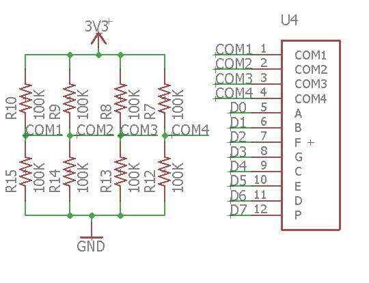 Figure 1 LCD schematic