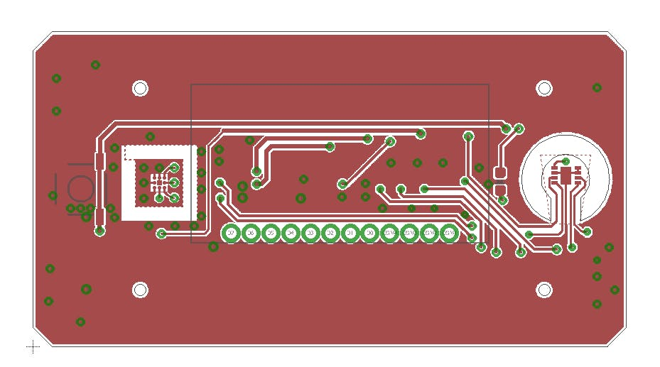 Figure 2. PCB layout. Top side