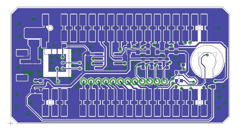 Figure 3 PCB layout Bottom side