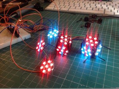 RGBW NeoPixel Structures