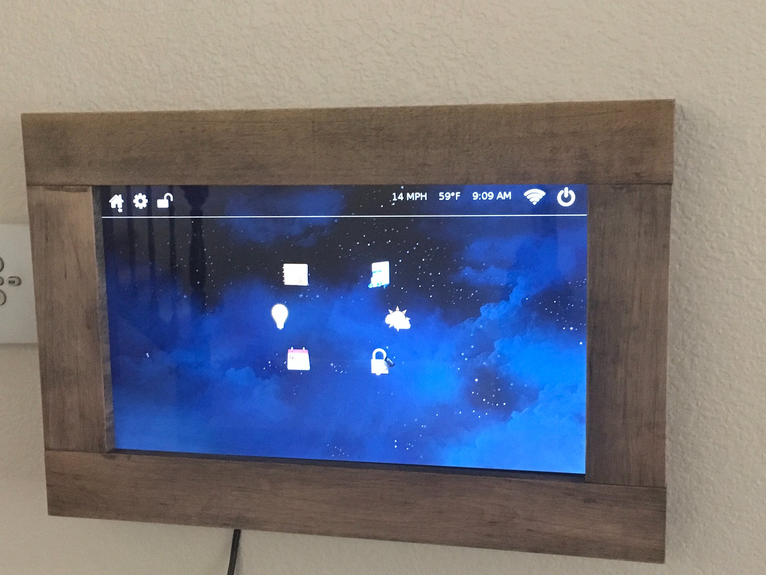 Home Automation Control Panel